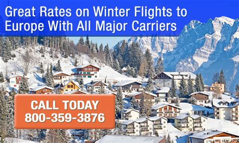 cheap winter flights  europe winter deals   fly europe