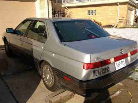 electric and cars manual 1993 alfa romeo 164 auto manual buy used 100 electric ev car alfa romeo 164 electric car like nissan leaf or tesla in