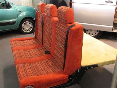 Bench for camping vehicles