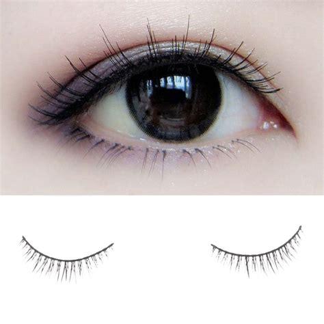 10 Pairs Set False Eyelashes pro 10 pairs sparse makeup handmade false