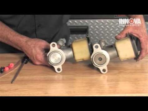 how to bench bleed a clutch master cylinder how to bench bleed a master cylinder brake or clutch