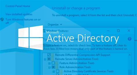 installing active directory users  computers mmc snap