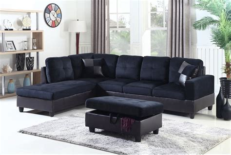 blue microfiber sectional f112a midnight blue microfiber faux leather sectional