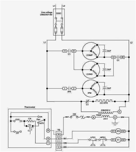 payne heat wiring diagram payne heat compressor