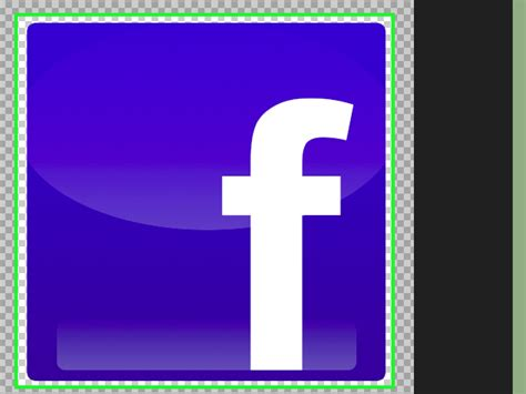 design icon in photoshop how to create a facebook icon using photoshop 14 steps