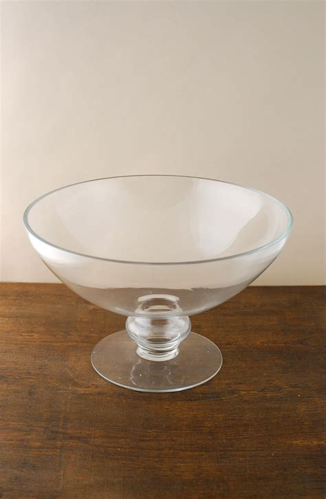 Glass Flower Bowl Floating Flower Bowl