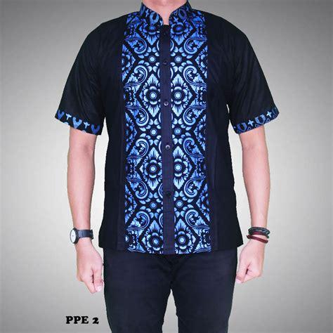A0683 Kemeja Koko Batik Prada kemeja batik pria kombinasi prada kode ppe 2 batik prasetyo