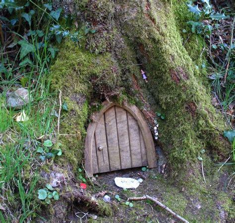 Tree With A Door by Door In A Tree Fairies