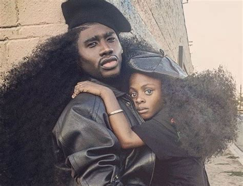 black guy with gold strip in his hairstyle pictures everyone s in love with benny harlem and his daughter s