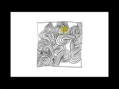 zentangle pattern youtube zentangle patterns tangle patterns sand swirl youtube