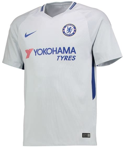 Chelsea Away Jersey 2017 2018 001 new chelsea nike kit 2017 2018 cfc home away jerseys