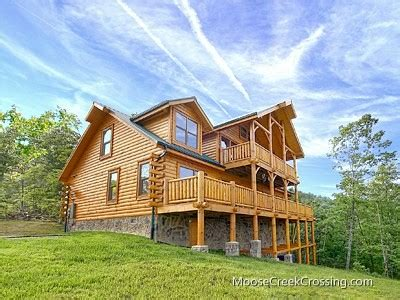 moose creek crossing cabin rentals heysmokies