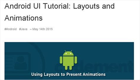 android layout tutorial youtube android ui layout tutorial top 9 resources to learn mobile