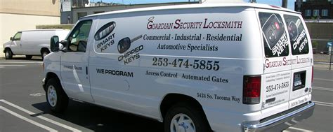 locksmith tacoma guardian security inc