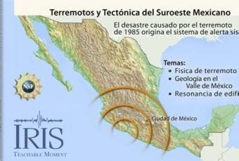 placas tectnicas de michoacan mexico suroeste terremotos tectonica incorporated