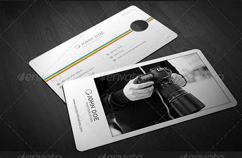 Photography Plastico Business Card Template by 15 Business Card Designs For Every Photographer Design