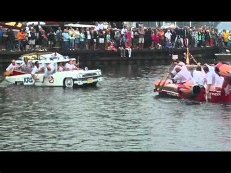 cardboard boat race ontario cardboard boat race orillia ontario 2010 ghostbuster car