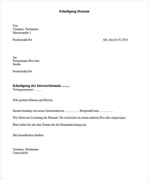 Musterbrief Kündigung Telekom Umzug Domain K 252 Ndigen Vorlage Ihr Wollt In Eurem Hostingvertrag Eine Einzelne Domain K 252 Ndigen Falls