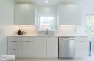 Flat Panel Kitchen Cabinets Glossy White Flat Panel Kitchen Cabinet Someday Kitchen