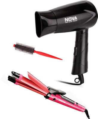 Hair Dryer And Straightener Combo Flipkart 50 on nhp 8100 nhc 990 roller personal care
