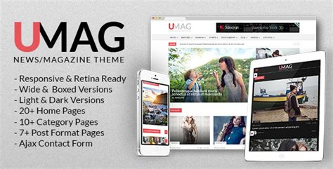 entertainment templates for blogger umag news magazine blog template by alia themeforest
