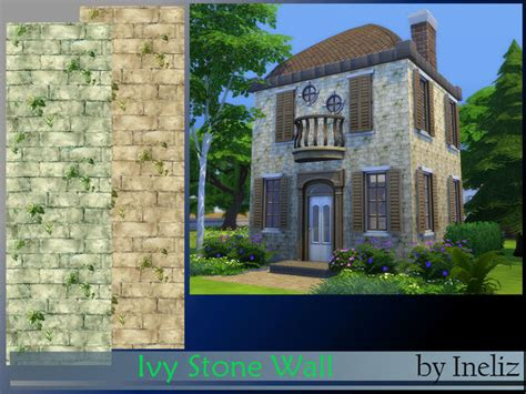 ivy and stone home on instagram sims 4 ivy stone wall
