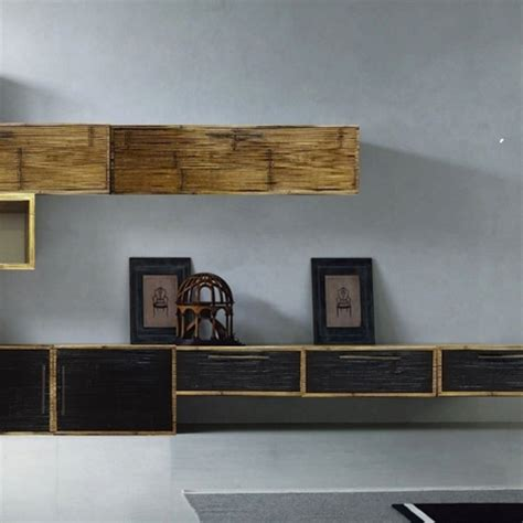 soggiorno etnico moderno soggiorno etnico moderno in legno e crash bambu