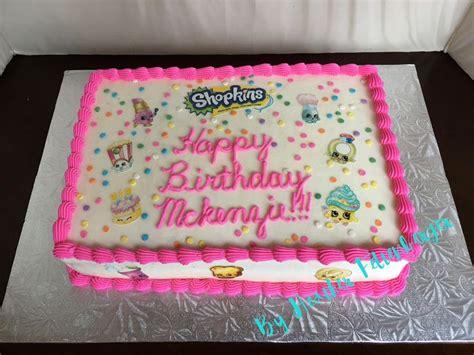Shopkins Sheet Cake  Ee  Birthday Ee   Cake Cakes In