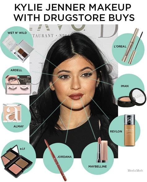 tutorial makeup ala kylie jenner how to do kylie jenner makeup with all drugstore products