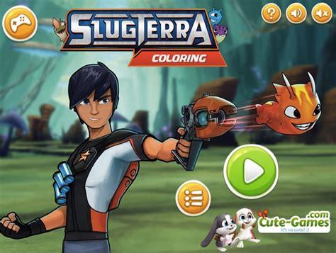 SLUGTERRA GAMES   GAMES KIDS ONLINE