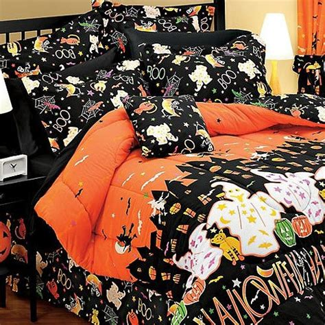 halloween bedding halloween haunted house ghosts decor full bedding set