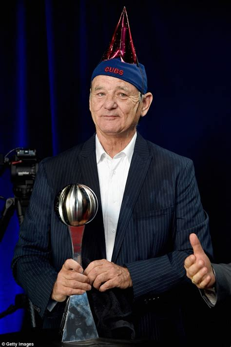 bill murray fan bill murray enjoys chagne shower at espy awards daily