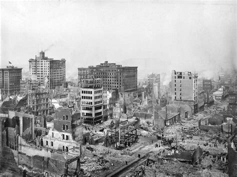 earthquake of 1906 history in photos san francisco earthquake