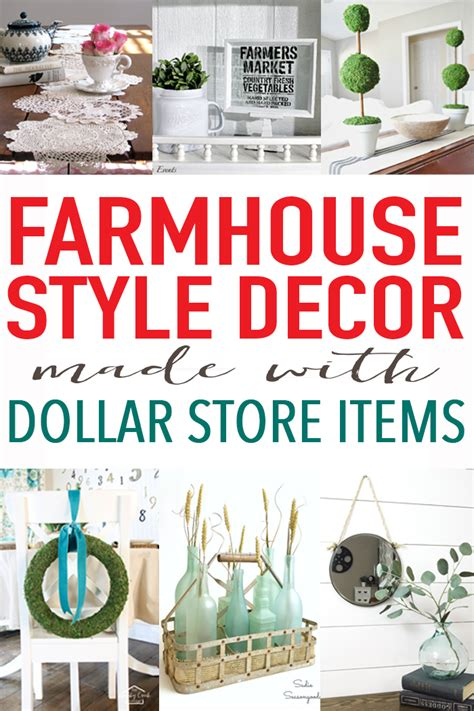 home and decor store 20 farmhouse decor from the dollar store craft ideas