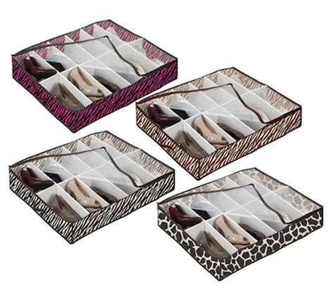 underbed storage for shoes bed shoe storage 4 animal prints available keep