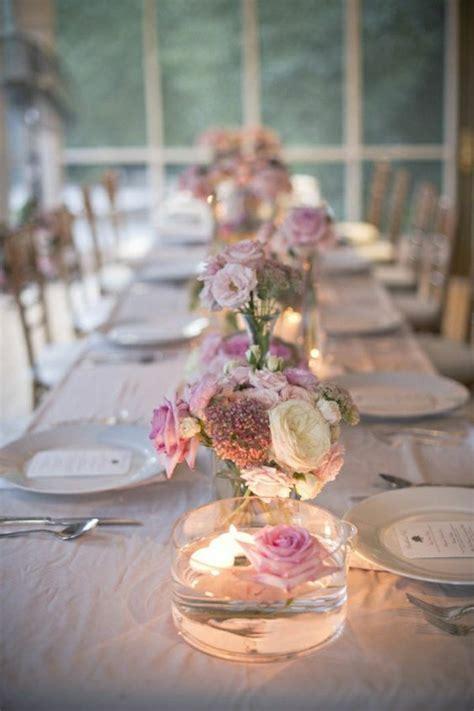 photo table mariage comment d 233 corer le centre de table mariage