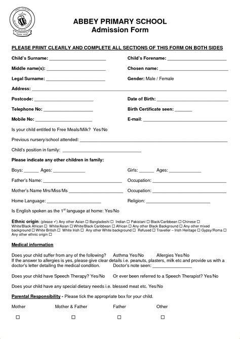template application form gse bookbinder co