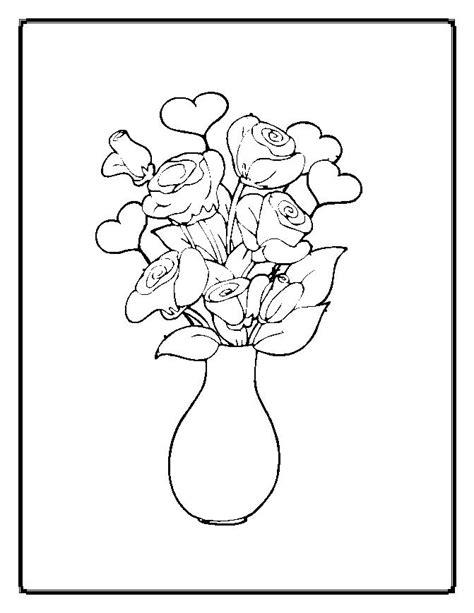 Mewarnai dan Menggambar: Cara Mewarnai Vas Bunga Dari
