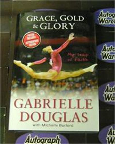 graciousness tempering with books gabby douglas autographed book grace gold 2012