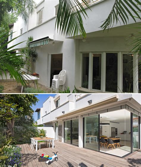 1980s contemporary house remodel before and after a contemporary update for a 1980s house