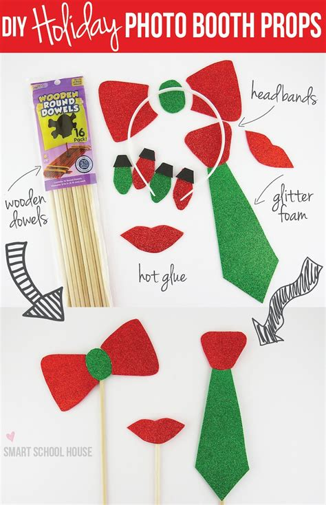 diy photo booth props templates images