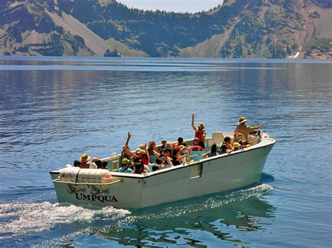 winter park boat tour schedule permits reservations crater lake national park u s