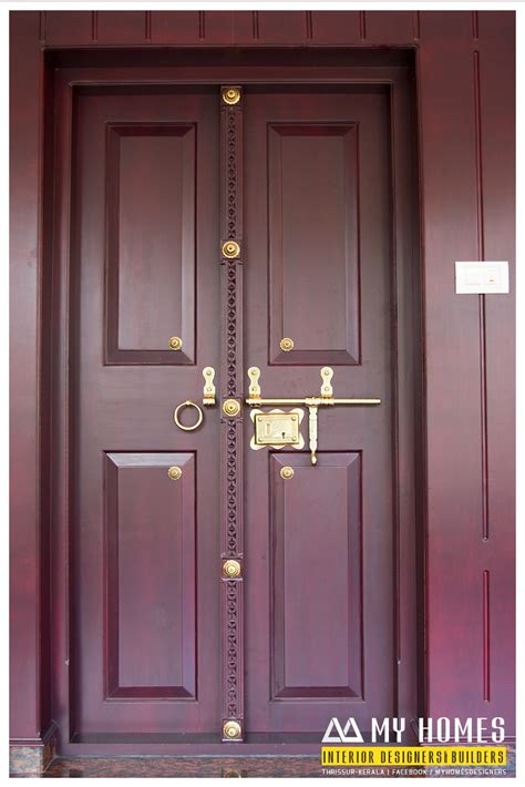 House Front Single Door Design by Traditional Front Door Designs Kerala