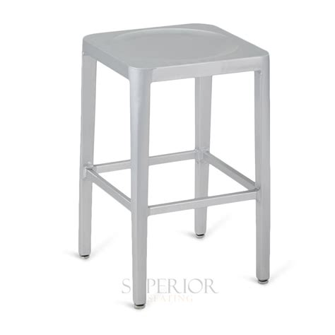 aluminum outdoor stools contemporary backless aluminum commercial outdoor bar