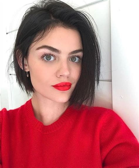 lucy hale short hair bob best 25 lucy hale hairstyles ideas on pinterest lucy