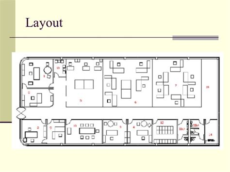 que es layout produccion distribucion planta