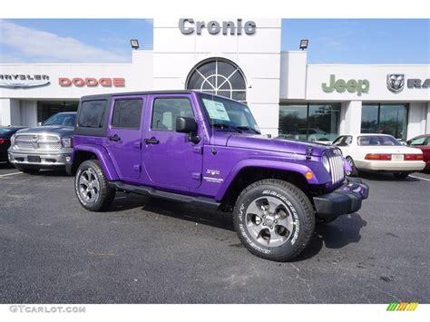jeep purple 2017 2017 purple jeep wrangler unlimited 4x4