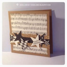Handmade Sheet Cards - 25 best ideas about musical birthday cards on