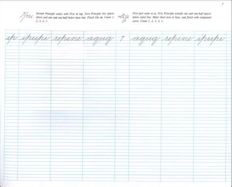 Spencerian Penmanship Worksheets by 28 Spencerian Handwriting Worksheets Spencerian