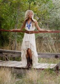 country western style of the dresses country style wedding dresses with cowboy boots
